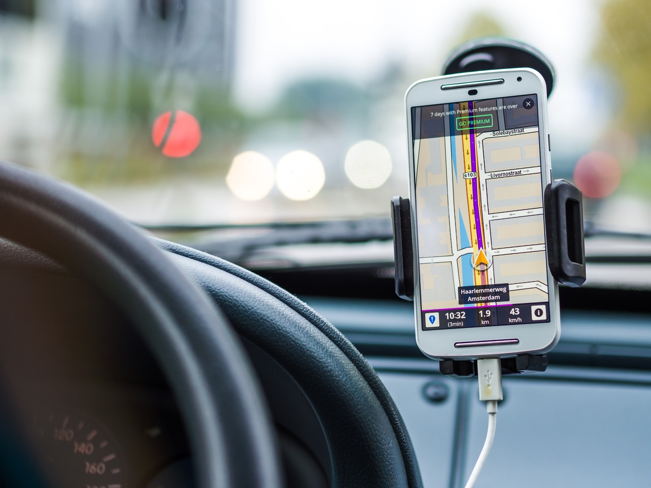 what gps to use in rent a car romania