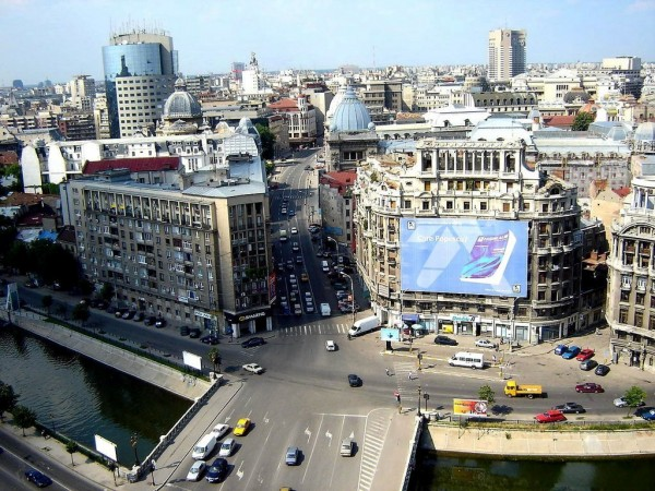 driving a rental car in bucharest city